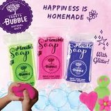 Bubble Flexible soap -roze_