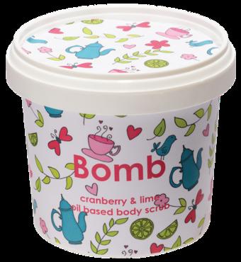 Cranberry & Lime Body Scrub