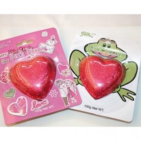Badbom in hartvorm,