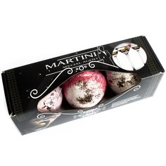 Martini Cocktail Bath Bomb Set