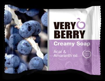 Very Berry - Romige zeep Acai & Amaranth-olie