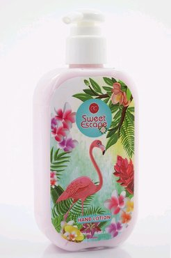 SWEET ESCAPE hand lotion in pump dispenser