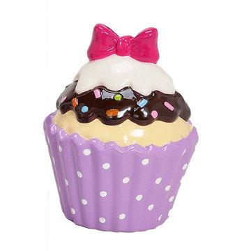 Spaarpot Cupcake Paars