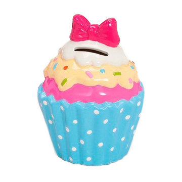 Spaarpot Cupcake Blauw