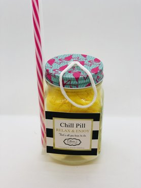 Chill-Pill-Bath-Bomb-Gift-Set (Pina colada)