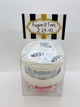 Bomb Cosmetics Fingers & Toes Handmade Hand & Foot Care Gift
