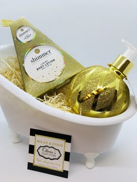 Gloss Body Luxurious Warm Vanilla  Gift Set