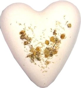 Chamomile & Honey MegaFizz Bath Hearts –
